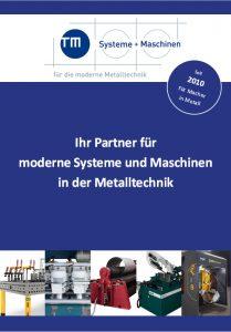 aktuelle TM-Broschüre – 09/2021