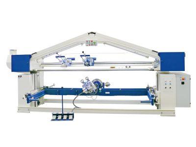 Langbandschleifmaschine_M2S97 mit Handlingsvorrichtung