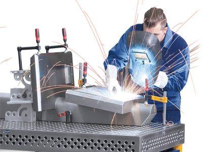 3D-Tisch Schweißer