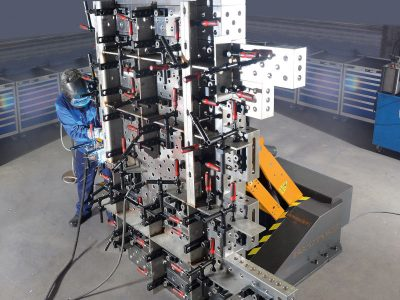 Ergonomix M2000 im Einsatz beim Aluminium schweißen