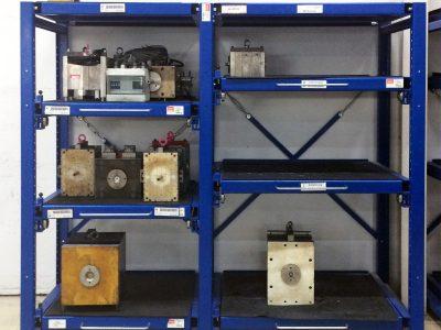 Schwerlast-Schubfachregal für z.B. Werkzeuge, Vorrichtungen etc.