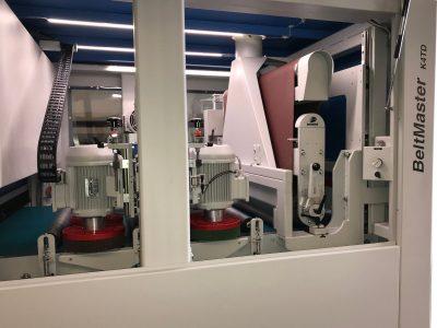 BeltMaster K4TD Schleif- und Entgratmaschine - Innenansicht