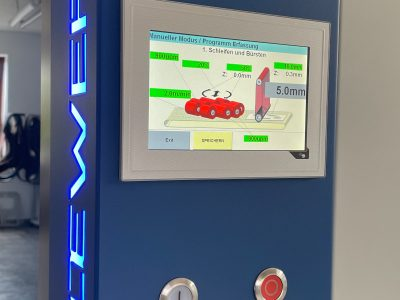 Loewer RotoMaster Touch-Panel Steuerung